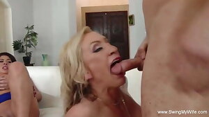 Swingers Swinging Together Gang Sex Just To Feel Arouse