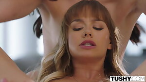 TUSHY, Anal-hungry tourists Avi & Naomi seduce bartender