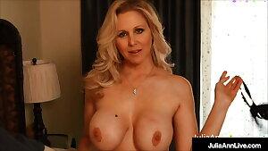 Want to Watch Mother Stuff Her Muff? Julia Ann Thumbs Bangs!