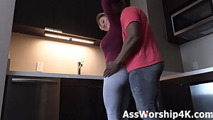 Yoga trousers arse adore with Dee Williams