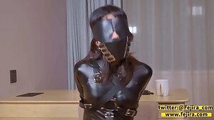 fejira com Latex mistress, femdom, slave girl Pt2