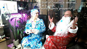 Snow Maiden's wet pussy and Santa's Magic Staff... )) #XMAS