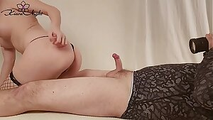 Stunner Fuck Tits and Soles Fetish - Cumshot