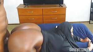 Another Corny ASF BBW Nun Roleplay Tooled With Penis Riding Action!