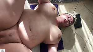 Alice Frost Point of view Yoga Sex Big Tits