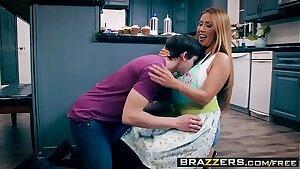 Brazzers - Mommy Got Boobs -  Bake Sale Bang scene starring Kianna Dior and Alex D