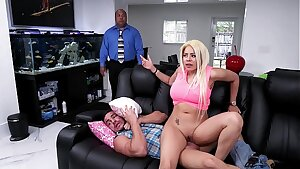 BANGBROS -  Luna Star Droppin' Her Cuban Big Ass On Peter Green's Cock