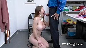 MILF Gets Caught Stealing And Gets Blackmailed Into Fucking- Biana Burke