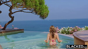 BLACKED, Her First-ever BBC Vacation
