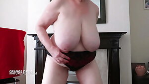 big tits, big arse and bare gams