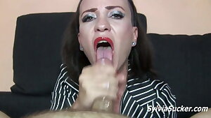 Oral Internal cumshot Compilation - 1 Nymphs