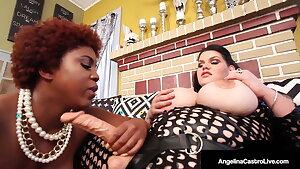 Curvy Cuban Cunt Banger Angelina Castro Stuffs Dark Maserati