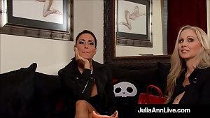 Crazy BDSM Cougars Julia Ann & Jessica Jaymes Bound & Banged!