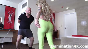 Mistress Joslyn James BALLBUSTING session