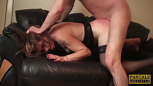 PASCALSSUBSLUTS - Cougar Filthy Emma Dominated After Face Fuck